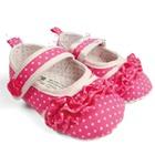 รองเท้าเด็กลายจุด-สีชมพู-(6-คู่/แพ็ค)