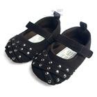 รองเท้าเด็กลูกปัดเล็ก-Mothercare-สีดำ(6-คู่/แพ็ค)