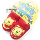 รองเท้าเด็กหมีพูล์-Carter-สีแดง-(4-คู่/แพ็ค)