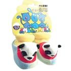 รองเท้าเด็กหมีแพนด้า-Carter-สีฟ้า-(4-คู่/แพ็ค)