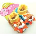 รองเท้าเด็กหมีน้อย-Carter-สีน้ำตาล-(4-คู่/แพ็ค)