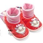 รองเท้าเด็กแมวเหมียว-Disney--สีแดง-(4-คู่/แพ็ค)