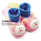 รองเท้าเด็กกระต่ายน้อย-Carter--สีชมพู-(4-คู่/แพ็ค)
