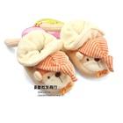 รองเท้าเด็กหมีใส่หมวก-Carter--สีน้ำตาล(4-คู่/แพ็ค)