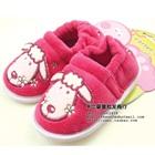 รองเท้าเด็กหมาน้อย-Disney--สีชมพู-(4-คู่/แพ็ค)