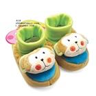 รองเท้าเด็กหมีน้อย-Carter--สีน้ำตาล-(4-คู่/แพ็ค)