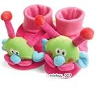 รองเท้าเด็กหนอนน้อย-Carter--สีชมพู-(4-คู่/แพ็ค)