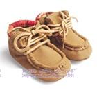 รองเท้าเด็ก-ZARA-baby-สีน้ำตาล(6-คู่/แพ็ค)