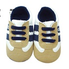 รองเท้าผ้าใบเด็ก-Guess-สีน้ำตาลขาว-(6-คู่/แพ็ค)