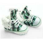 รองเท้าผ้าใบเด็ก-Mothercare-สีเขียวดำ-(6-คู่/แพ็ค)