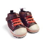 รองเท้าผ้าใบเด็กZARA-baby-สีน้ำตาล-(6-คู่/แพ็ค)