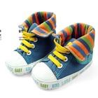 รองเท้าผ้าใบเด็ก-mothercare-สีฟ้า-(6-คู่/แพ็ค)
