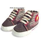 รองเท้าผ้าใบเด็ก-Guess-สีน้ำตาล-(6-คู่/แพ็ค)