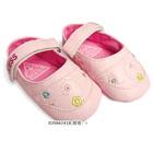 รองเท้าเด็กลายดอกไม้-Guess-สีชมพู(6-คู่/แพ็ค)