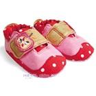 รองเท้าเด็ก-ZARA-baby-สีชมพู(6-คู่/แพ็ค)