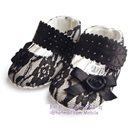 รองเท้าเด็ก-Mothercare-สีขาวดำ(6-คู่/แพ็ค)