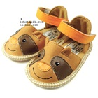 รองเท้าเด็กวัวยิ้ม-สีน้ำตาล-(6-คู่/แพ็ค)