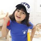 เสื้อยืด-Star-สีฟ้า-(5size/pack)