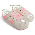 รองเท้าผ้าใบเด็ก-Hello-Kitty-สีเทา-(6-คู่/แพ็ค)