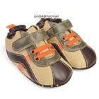 รองเท้าผ้าใบเด็ก-Mothercare-สีน้ำตาล-(6-คู่/แพ็ค)