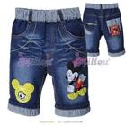 กางเกงยีนส์ขาสามส่วน-Mickey-Mouse-(5size/pack)