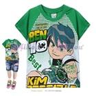 เสื้อยืดแขนสั้น-BEN-10-สีเขียว-(6size/pack)