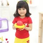 เสื้อยืด-Star-สีแดง-(5size/pack)