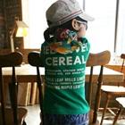 เสื้อยืดแขนสั้น-Cereal-สีเขียว-(5size/pack)