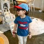 เสื้อยืดแขนสั้น-Denim-Blue-สีฟ้า-(5size/pack)