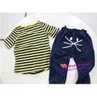 เสื้อกางเกงแมวเหมียว-สีเหลืองน้ำเงิน-(5-ตัว/pack)