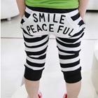กางเกงขาสามส่วน-Smile-Peaceful-สีดำ-(5-ตัว/pack)