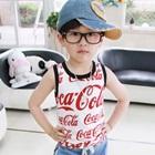 เสื้อกล้าม-Coca-Cola-สีขาว-(5size/pack)