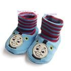 รองเท้าเด็ก-Locomotive--สีฟ้า-(4-คู่/แพ็ค)