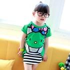 เสื้อยืดแขนสั้น-Hello-Kitty-สีเขียว-(5ตัว/pack)