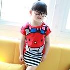เสื้อยืดแขนสั้น-Hello-Kitty-สีแดง-(5ตัว/pack)