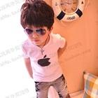 เสื้อยืดแขนสั้น-Apple-Iphone-สีขาว-(5ตัว/pack)