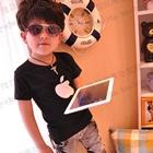 เสื้อยืดแขนสั้น-Apple-Iphone-สีดำ-(5ตัว/pack)