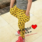 กางเกงขายาวลายจุด-สีเหลือง-(5-ตัว/pack)