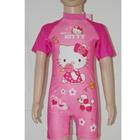 ชุดว่ายน้ำเสื้อกางเกงHello-Kittyสีชมพู(8-ตัว/pack)