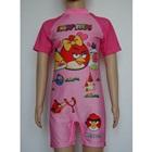 ชุดว่ายน้ำบอดี้สูท-Angry-Bird-สีชมพู(8-ตัว/pack)