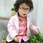 เสื้อสูทแขนยาวนักเรียนอินเตอร์-สีชมพู-(5-ตัว/pack)