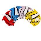 หมวกว่ายน้ำลายปลาการ์ตูน-หลากสี(5-ตัว/pack)