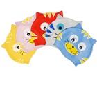 หมวกว่ายน้ำลายแมวเหมียว-หลากสี(5-ตัว/pack)