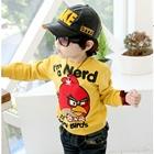 เสื้อแขนยาว-Angry-Birds-สีเหลือง-(4size/pack)