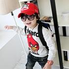 เสื้อแขนยาว-Angry-Birds-สีเทาอ่อน-(4size/pack)