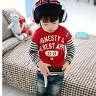 เสื้อแขนยาว-Mickey-Mouse-สีแดง-(4size/pack)