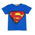 เสื้อยืดแขนสั้น-Super-Man-สีน้ำเงิน-(5ตัว/pack)