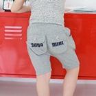 กางเกงสั้น-Suga-Mint-สีเทา-(5-ตัว/pack)