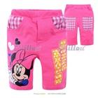 กางเกงขาสามส่วน-Minnie-Mouse-สีชมพู-(6size/pack)