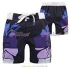 กางเกงขาสั้นลายดอกไม้-สีน้ำเงิน-(8-size/pack)